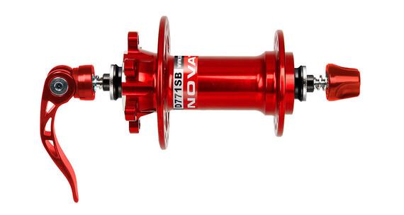 Novatec Superlight Nav 3in1 MTB Disc röd